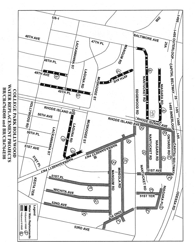Water Main Plans