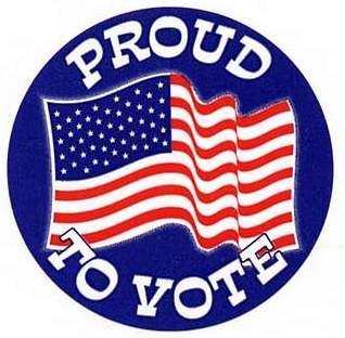Proud to vote!