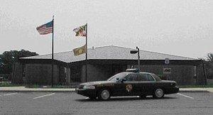 State Police Barrack in Sunnyside