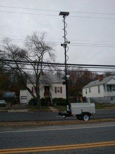 Speed Camera near Duvall Field