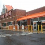 Home Depot open, but without power