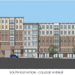College Avenue South Elevation