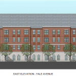 Yale Avenue East Elevation