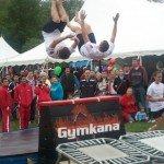 Gymkana gymnastics