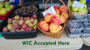 Many farmers at our market now accept WIC checks