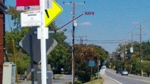 RRFB's on Rhode Island Avenue