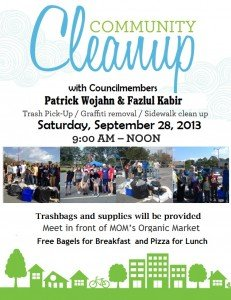 September 2013 Community Cleanup