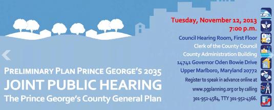 Plan 2035 Public Hearing