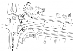 Greenbelt Rd design schematic