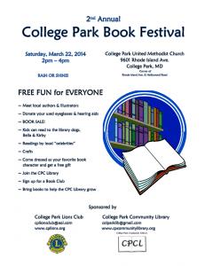 College Park Book Festival