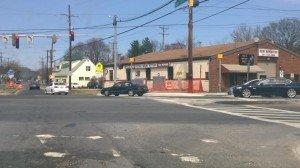 Repair work at MD 193 and Rhode Island Avenue