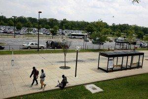 Greenbelt Metro parking lot  (Washington Post)