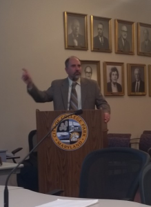 Eric Olson at College Park City Council