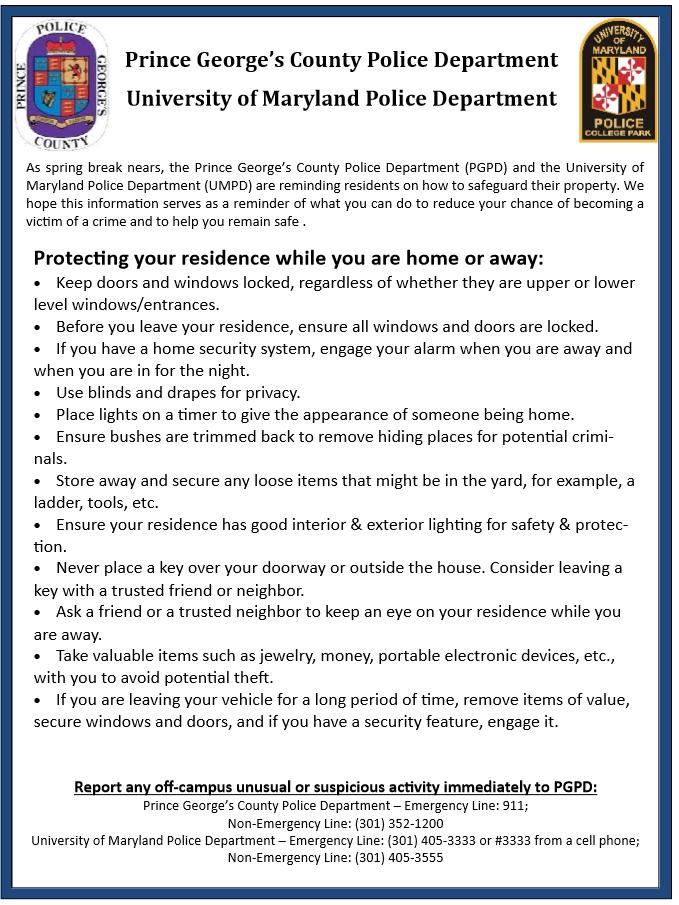 residence safety