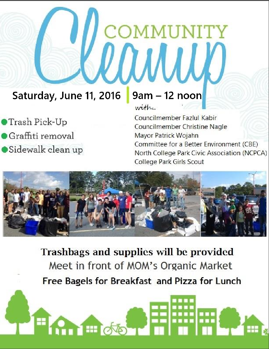 Cleanup 11 June 2016