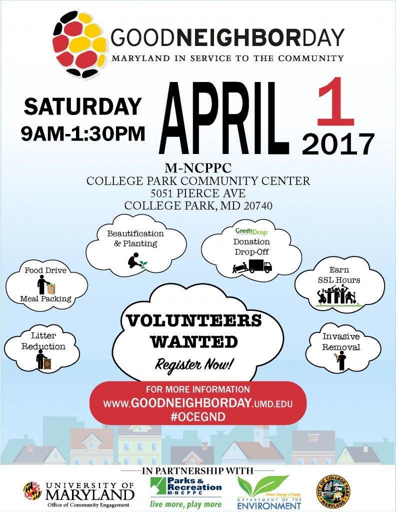 Good Neighbor Day Flyer 2017