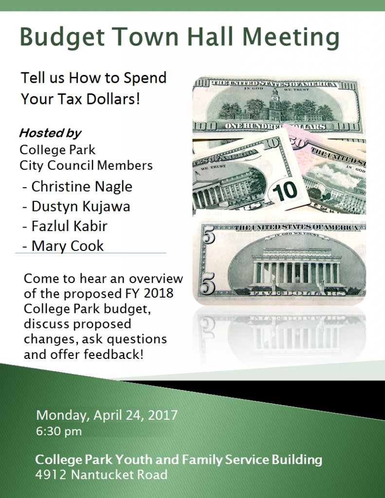 FY18-budget-town-hall-flyer