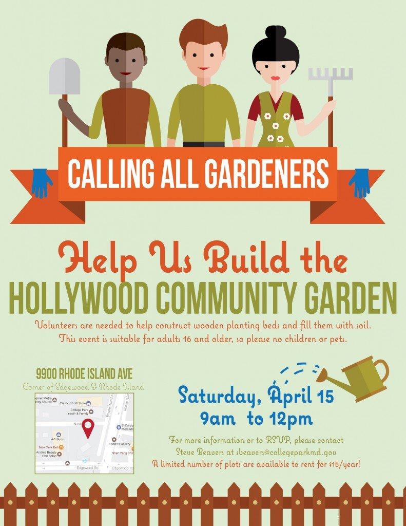 Hollywood Community Garden - Calling all Gardeners
