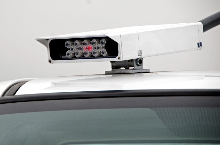 License plate reader used by the University of Maryland Dept of Transportation